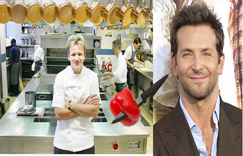 Gordon Ramsay Turns Tutor To Bradley Cooper